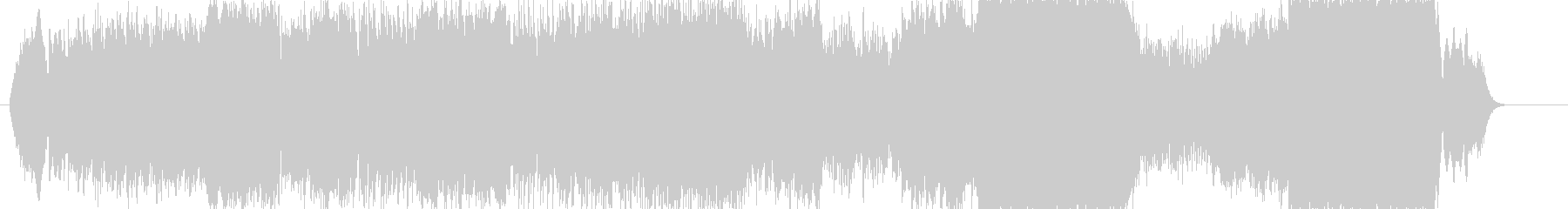 スライドショーBGM。場面にあわせて変化の未再生の波形