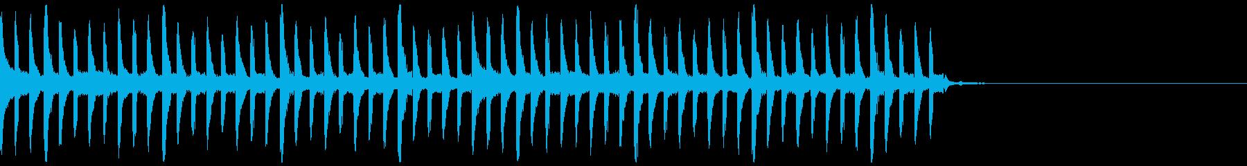 【ピコピコ】不思議なパワー、冒険BGMの再生済みの波形