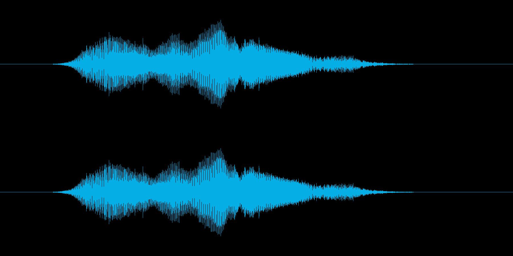ぐぁー の再生済みの波形