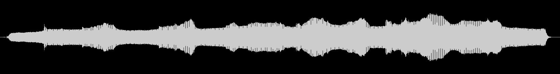 高速で作動するマッサージ装置の振動の未再生の波形