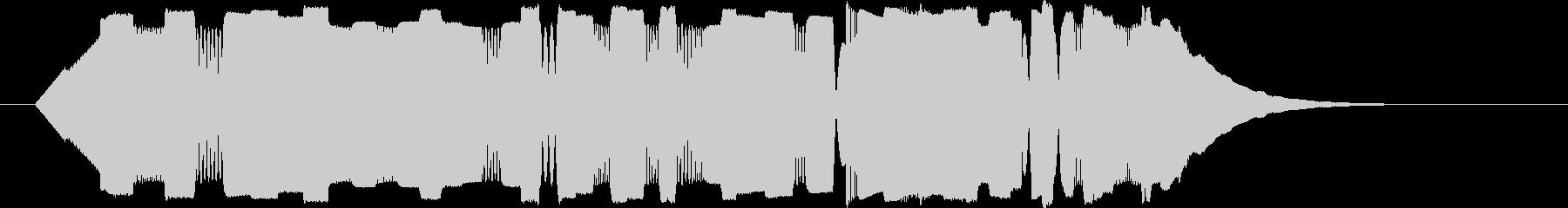 パリポリポパリポリポリ(電子)の未再生の波形