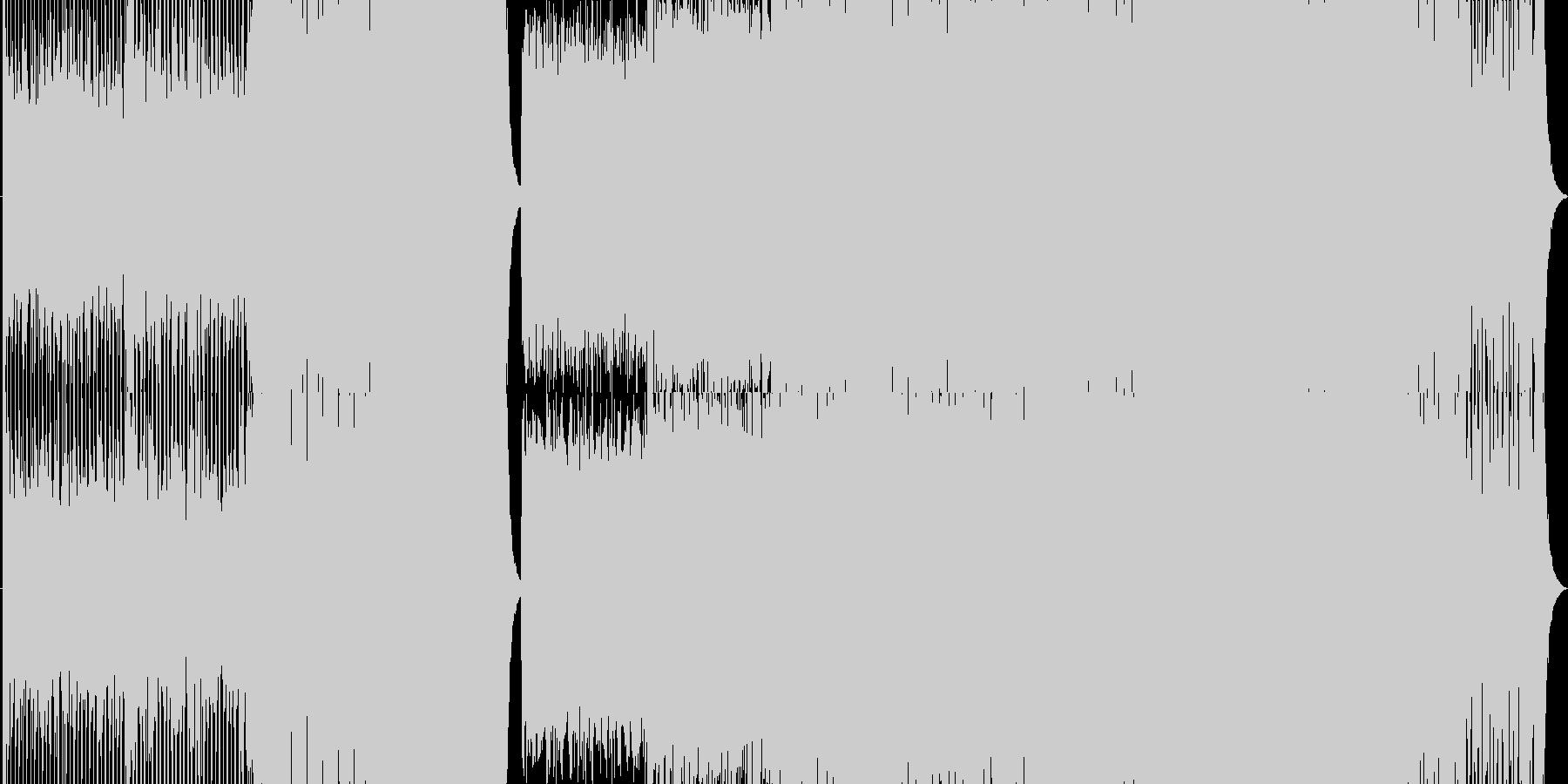 イベント・ゲームに似合うEDMの未再生の波形