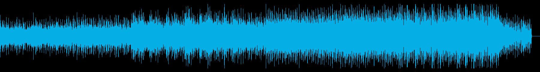 パーカッシブなホラーアンビエントの再生済みの波形