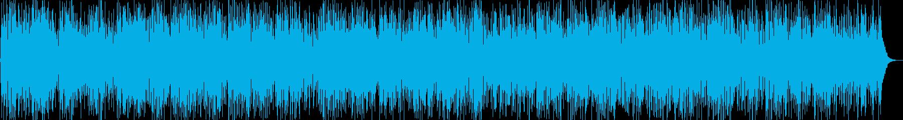 ゆったりと落ち着いたギターポップスの再生済みの波形