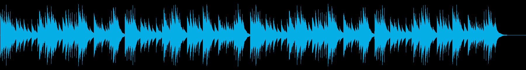 夕焼け小焼け カード式オルゴール の再生済みの波形