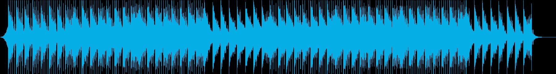 企業向け7!映像を邪魔しない爽快ピアノの再生済みの波形