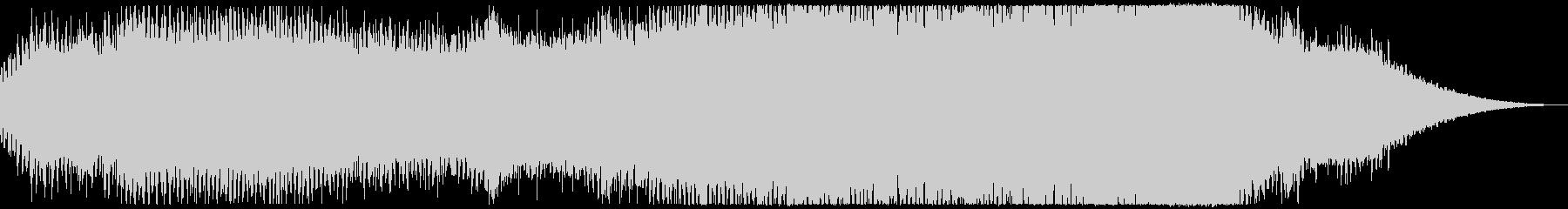 神秘的な感じのするアンビエントの未再生の波形