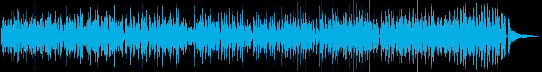 グリーンスリーブス/ボサノバピアノトリオの再生済みの波形