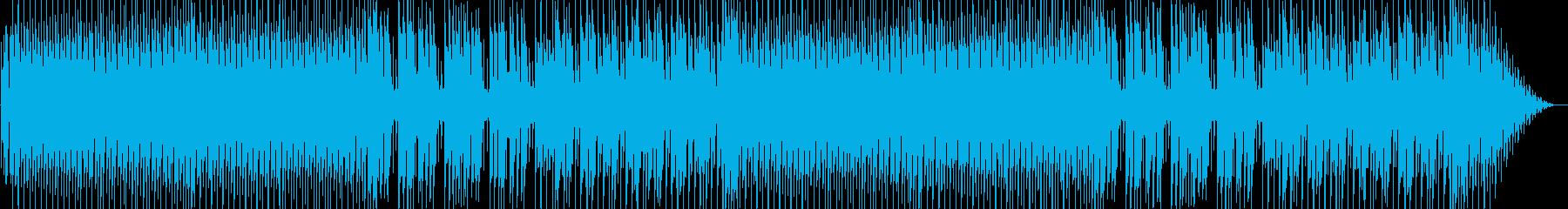 疾走感にあるシンセポップテクノ系の再生済みの波形