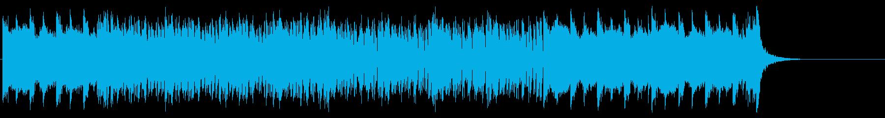 重厚で整然としたマイナーテクノポップの再生済みの波形