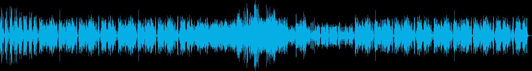 ガーシュインのサマータイムをフルートで!の再生済みの波形