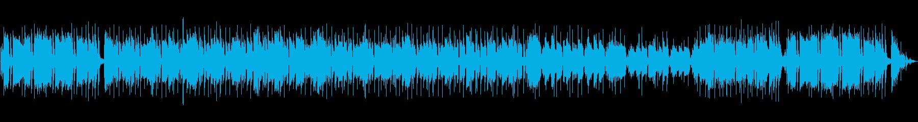 日常っぽい曲の再生済みの波形