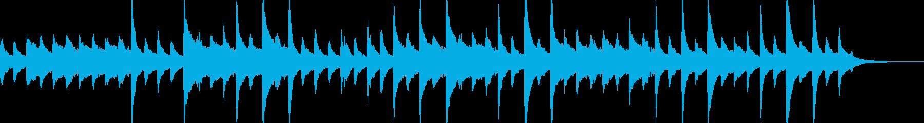 リラックス・優しい アコギ・フルートの再生済みの波形