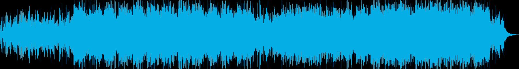 ポップ テクノ モダン アンビエン...の再生済みの波形
