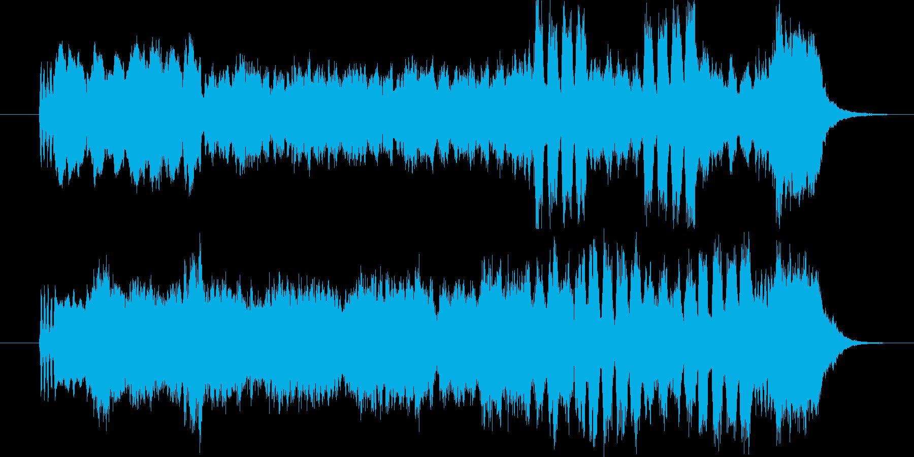 日本風のシンフォニーです。の再生済みの波形