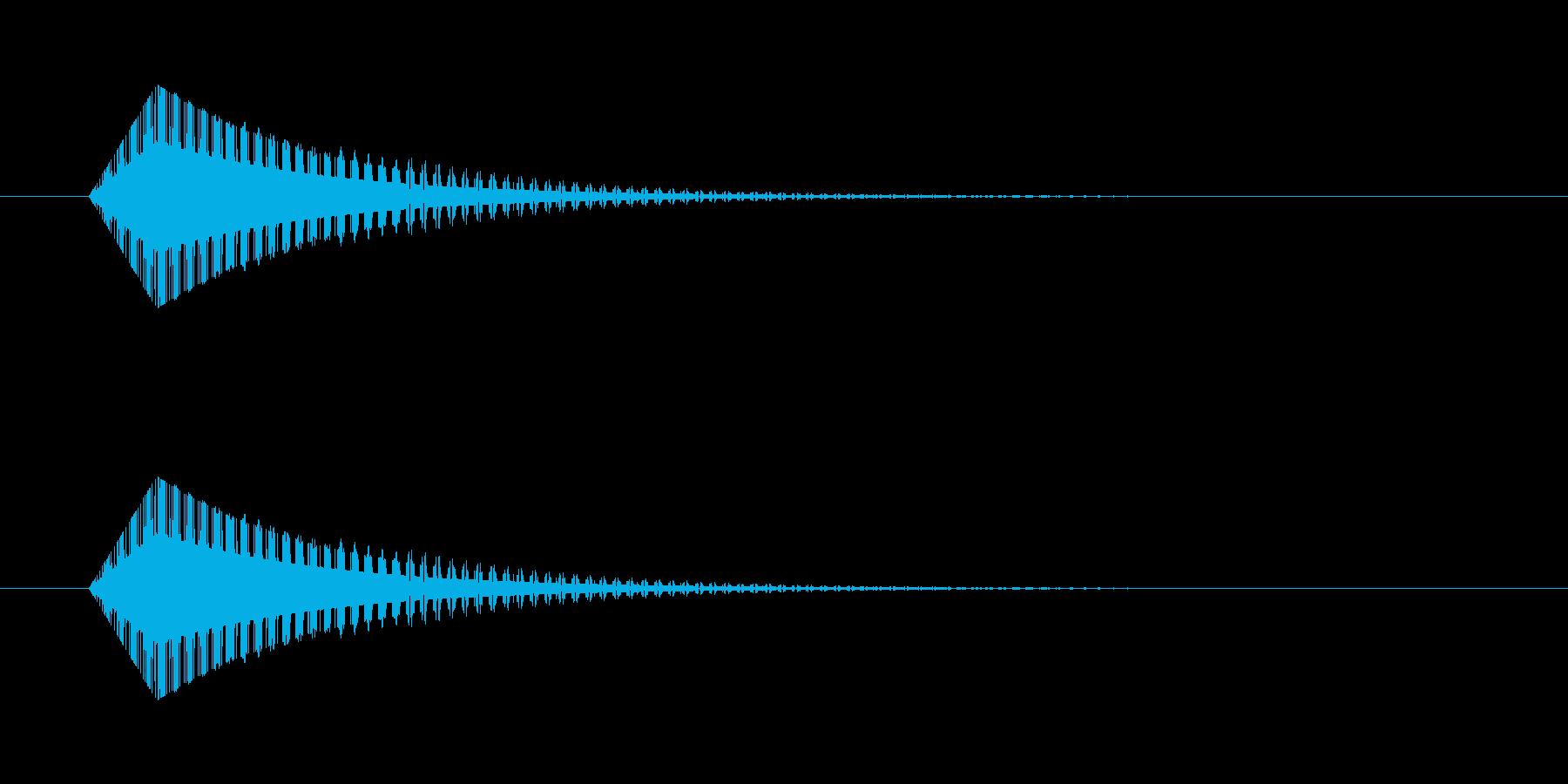 ギュイーン レトロゲーム風 魔法の再生済みの波形