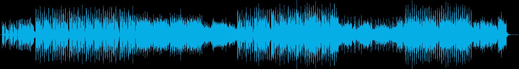 旅系動画のBGMに合うアコースティックの再生済みの波形