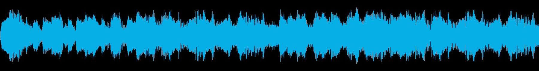 民族調のミステリー・ホラー演出_ループの再生済みの波形