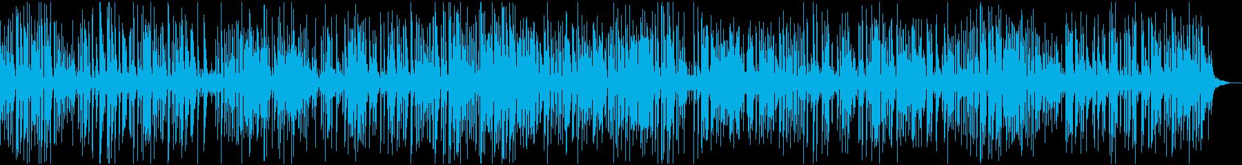 ソフトで大人なラウンジジャズピアノトリオの再生済みの波形
