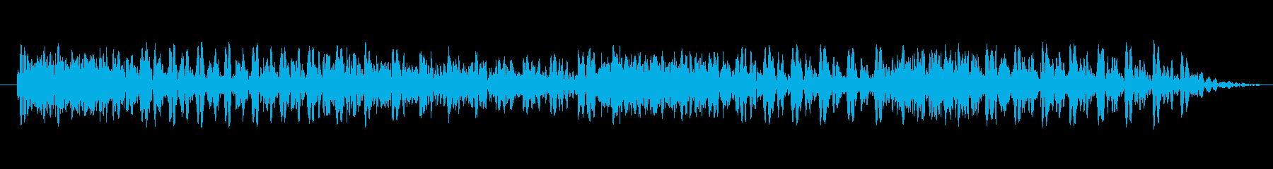 ジャジャジャジャ!の再生済みの波形