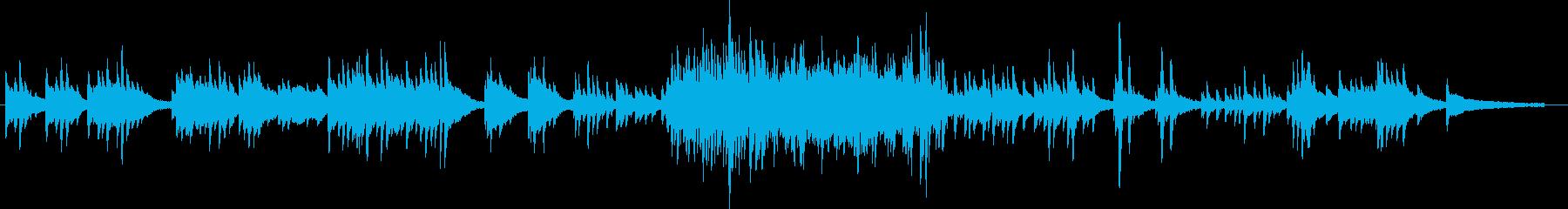 エンディング用しっとりピアノソロバラードの再生済みの波形