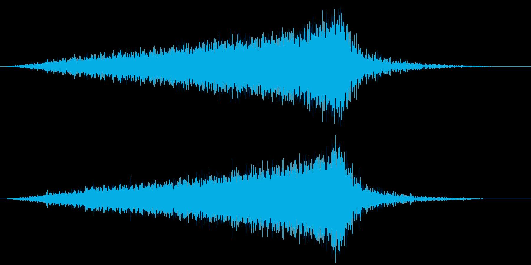 【ライザー】06 SFサウンド 宇宙の再生済みの波形