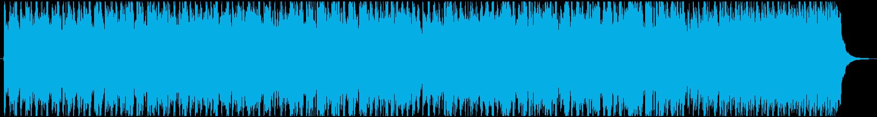 ゲームの軍隊が行進するイメージです。の再生済みの波形