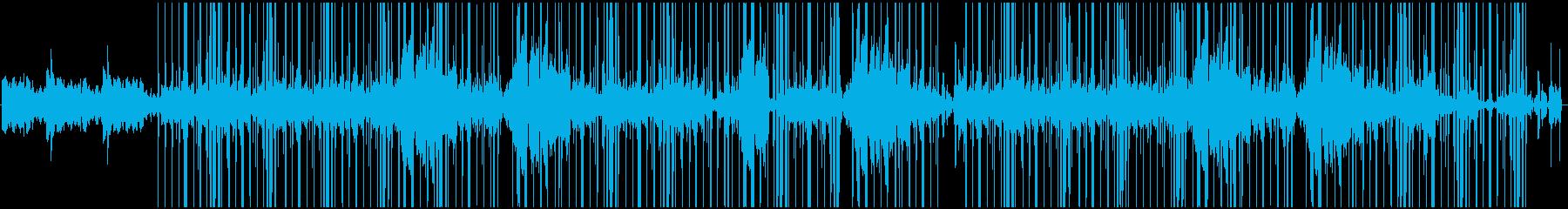 神秘的でレトロな上物にローファイビートの再生済みの波形