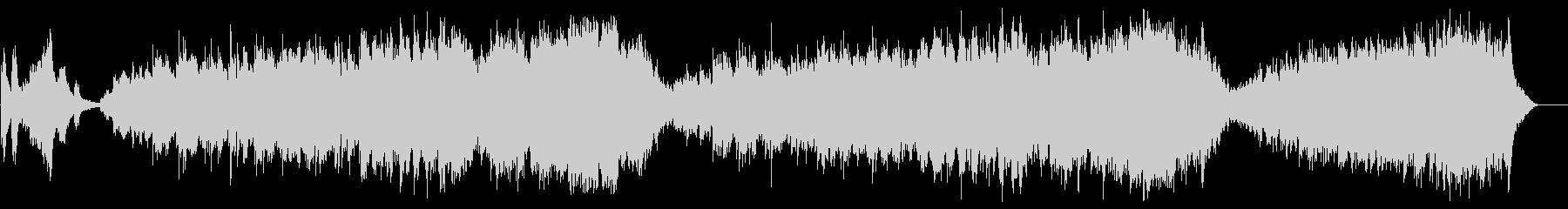 リラクセイション系 精神安定サウンドの未再生の波形