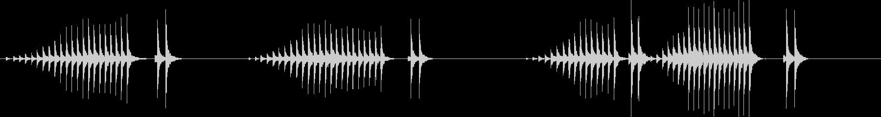 大太鼓20波音歌舞伎情景描写和風和太鼓江の未再生の波形