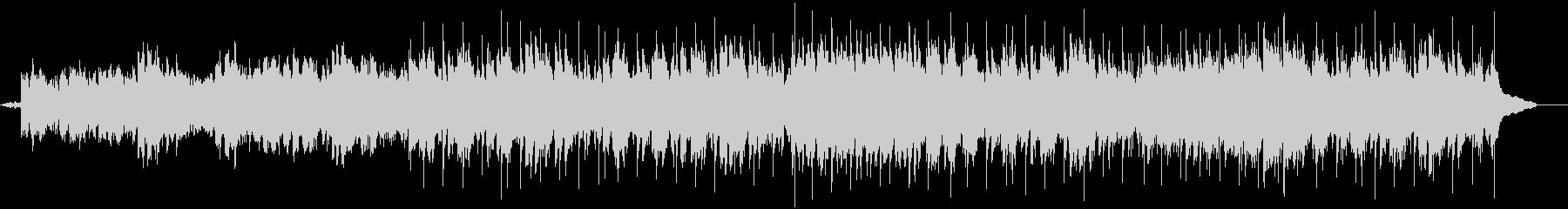 クライマックスをきらびやかに仕上げる曲の未再生の波形