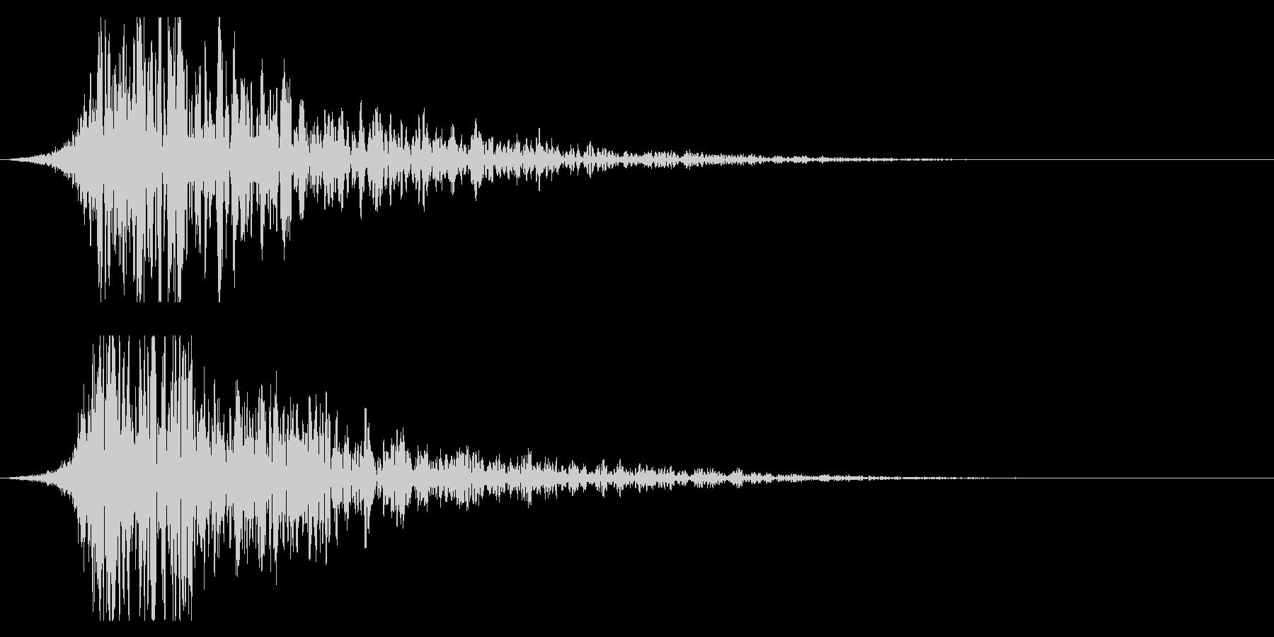 シュードーン-21-2(インパクト音)の未再生の波形