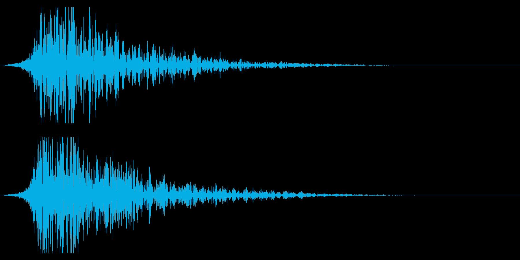 シュードーン-21-2(インパクト音)の再生済みの波形
