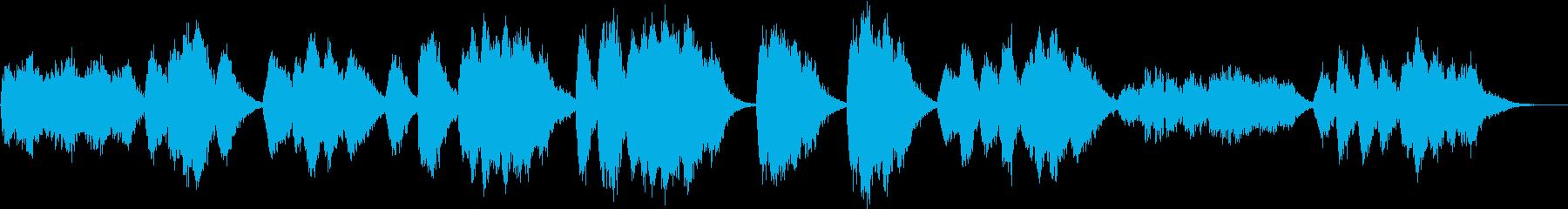 怪しい歌声/ハロウィンBGM/怖い肖像画の再生済みの波形