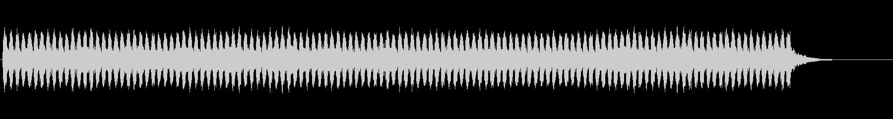 電子楽器。ロボットのエネルギッシュ...の未再生の波形