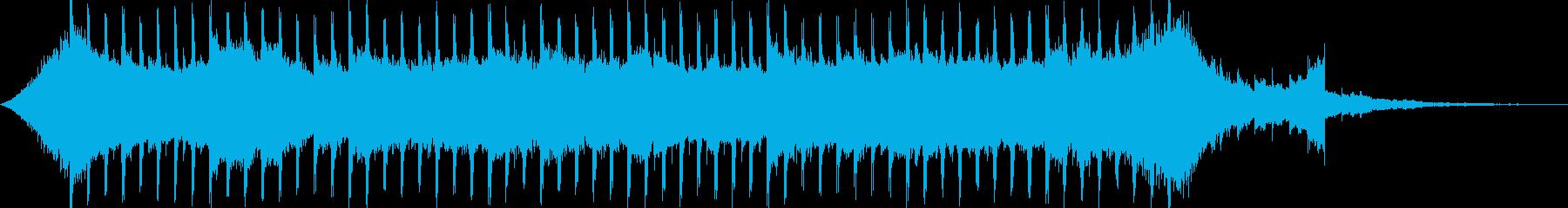 企業VP系29、爽やかギター4つ打ち8cの再生済みの波形