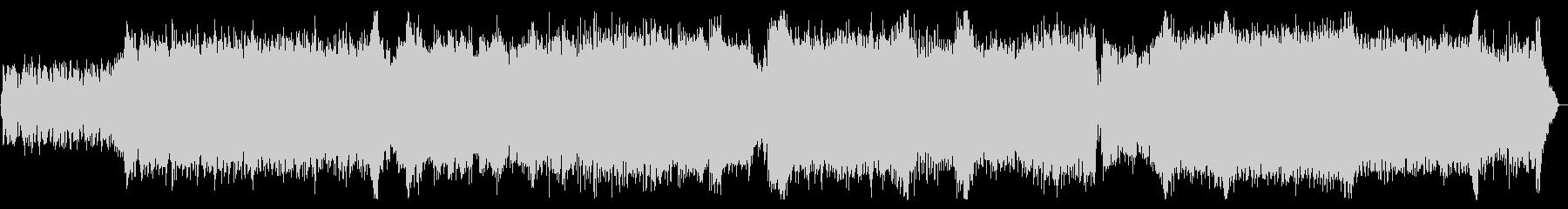 退廃的 美しいメロディ ドラムンベースの未再生の波形