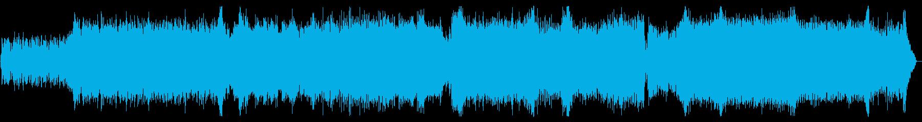 退廃的 美しいメロディ ドラムンベースの再生済みの波形