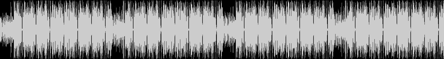 暗めでクールなHIPHOP系ループの未再生の波形