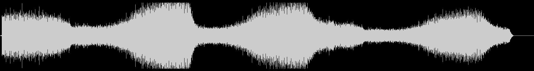 ミーンミーン(蝉の鳴き声)の未再生の波形