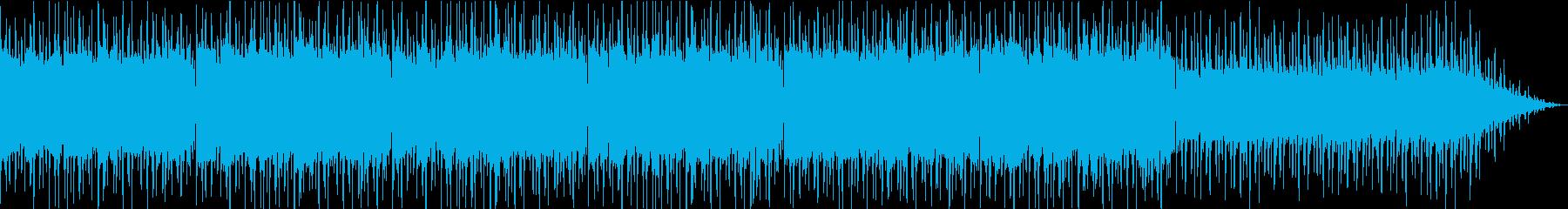 深海のようなイメージのアンビエントの再生済みの波形
