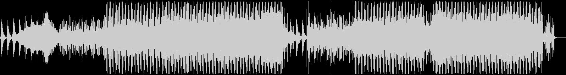 シブい系のシンセ音、幻想的なEDMの未再生の波形