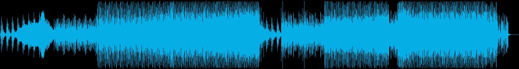 シブい系のシンセ音、幻想的なEDMの再生済みの波形