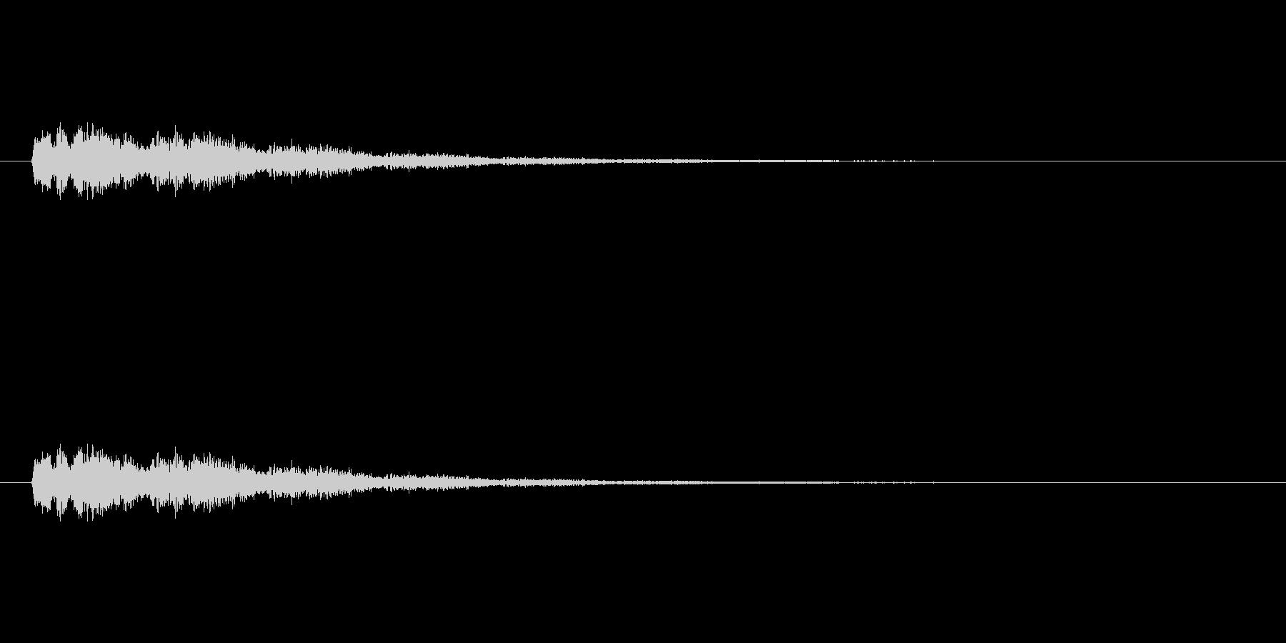 【ポップモーション43-3】の未再生の波形