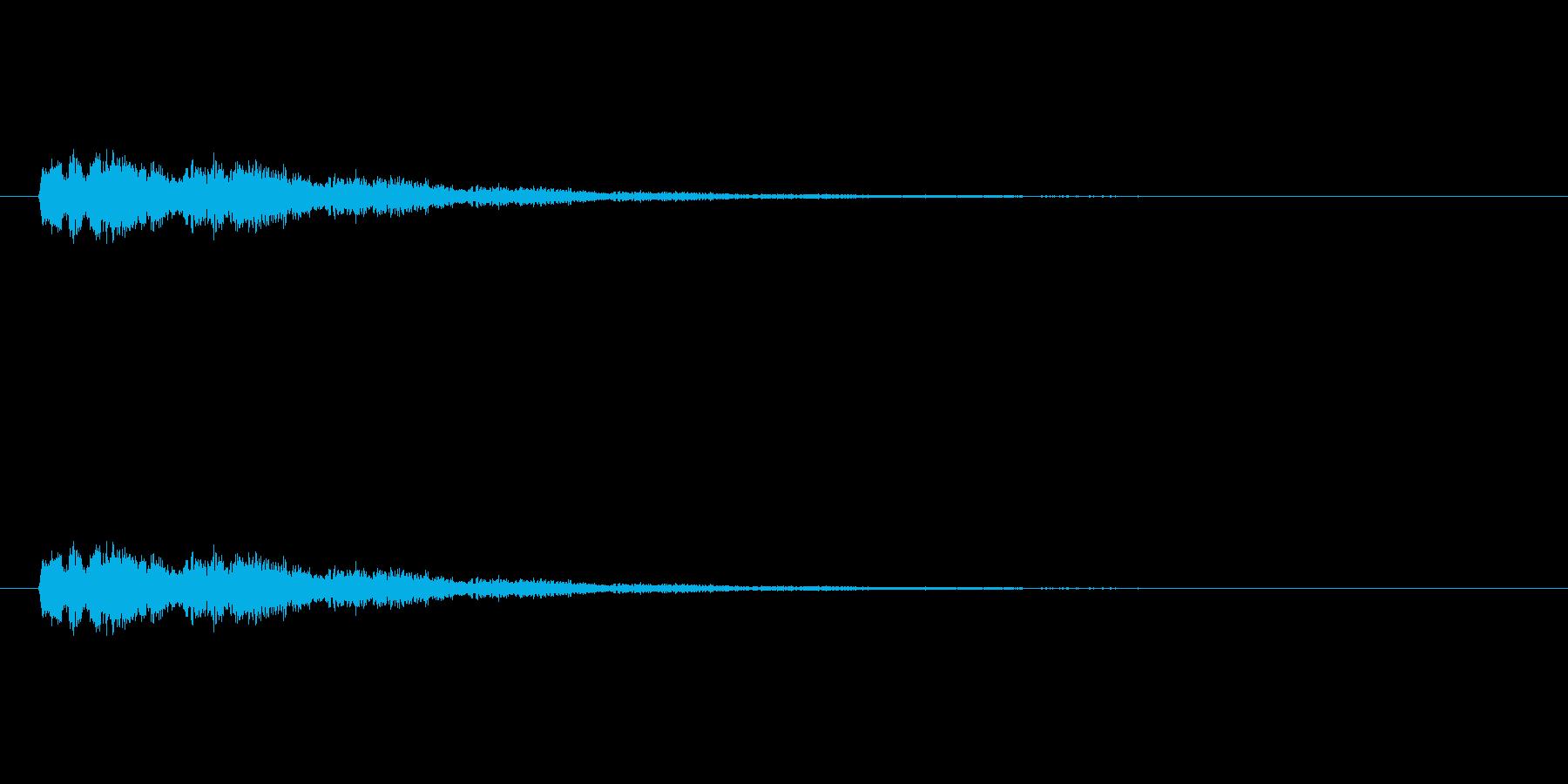 【ポップモーション43-3】の再生済みの波形