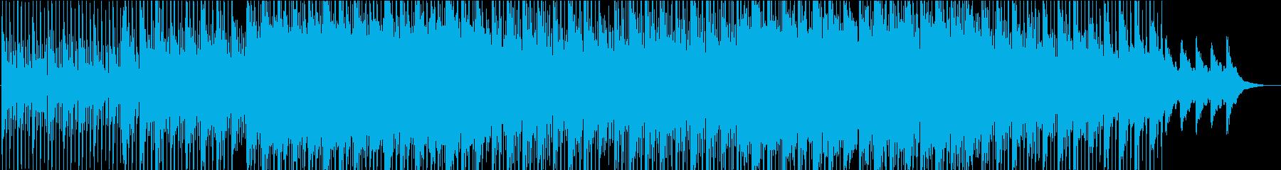 シンプルで明るく前向きなコーポレート音楽の再生済みの波形