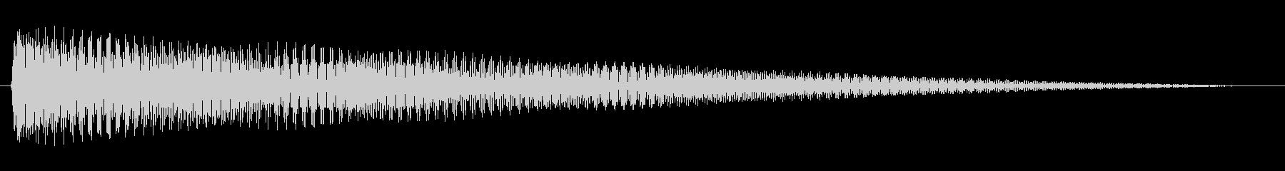 ジングル 切ないコードギターBの未再生の波形