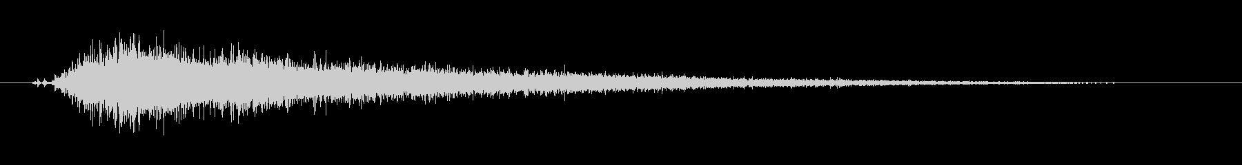 工具_ドリルの動作音5の未再生の波形