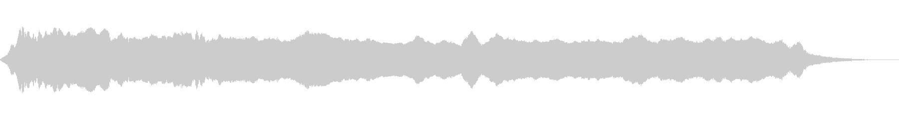 ミュージカル、ベースノート;超低音...の未再生の波形