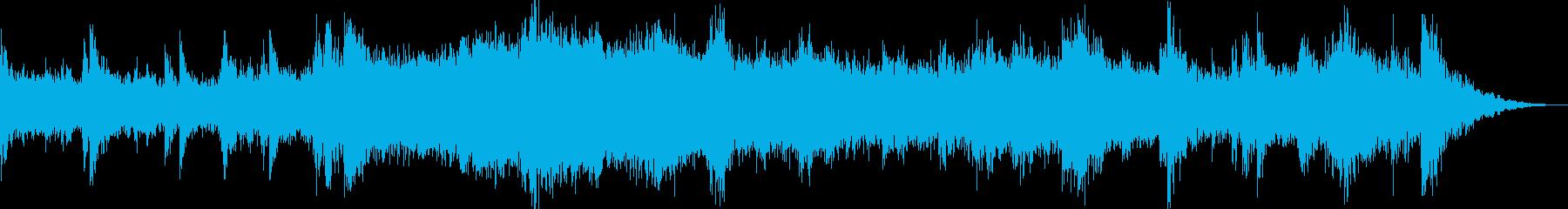 シーンのバックグラウンドでこれをプ...の再生済みの波形